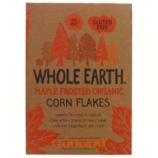 Whole Earth Maple Frosted Flakes - Og - 375g